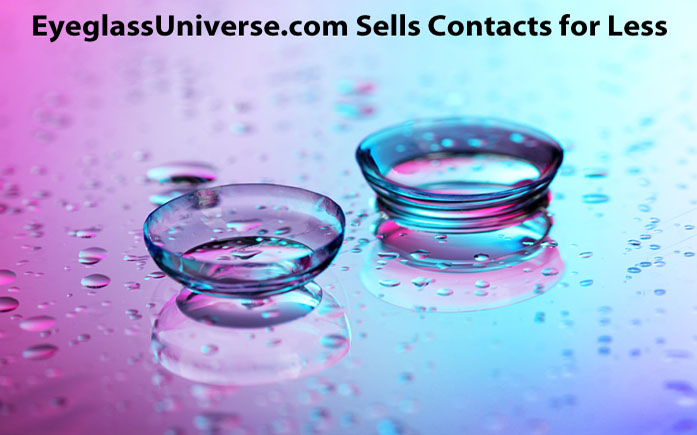 EyeglassUniverse.com Sells Contacts for Less